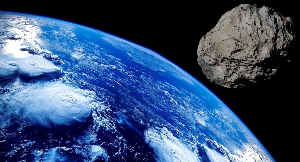 Asteroid and the Earth