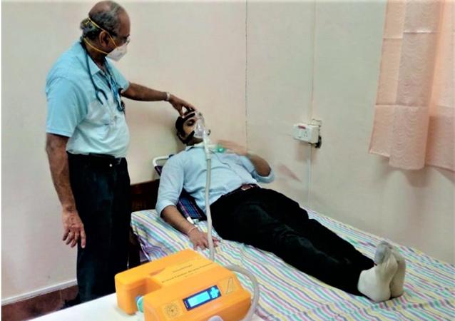 Swasth Vayu Non-Invasive Ventilator Trial