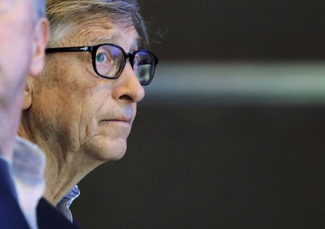 Microsoft founder Bill Gates listens to speakers as he attends the annual Microsoft Corp. shareholders meeting, Wednesday, Nov. 28, 2018, in Bellevue, Wash