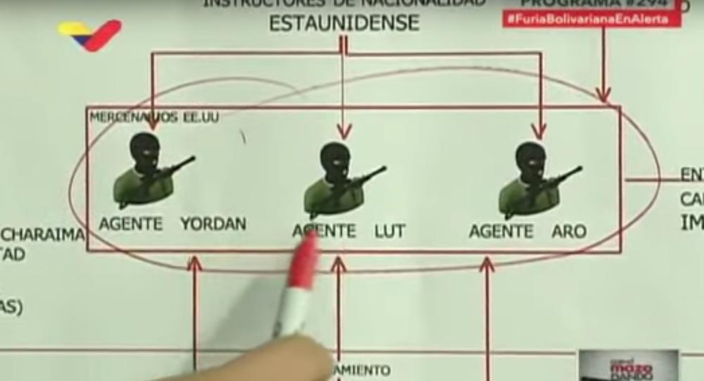Diosdado Cabello outlines the details of the mercenary plot to invade Venezuela.