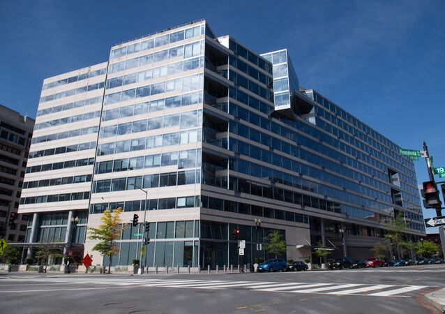 The headquarters of the International Monetary Fund (IMF) in Washington