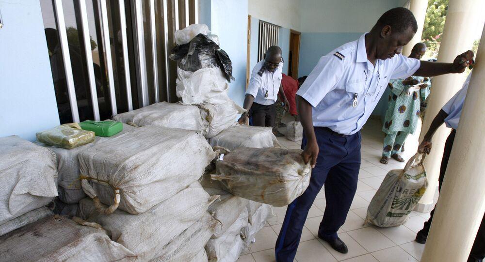 Senegalese police seize drugs