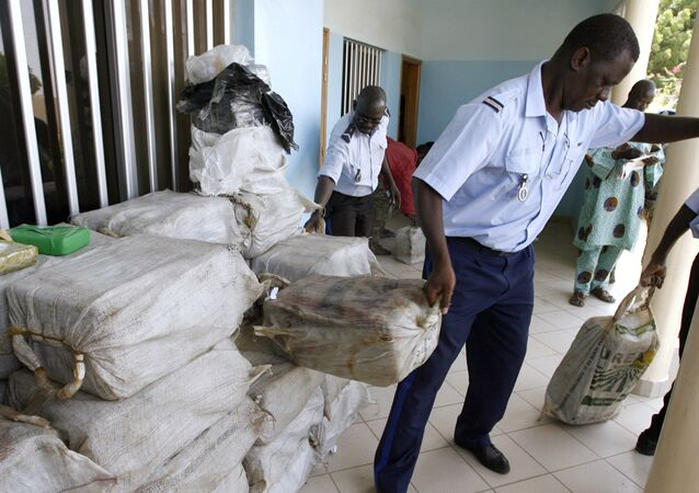 Senegalese police seize drugs