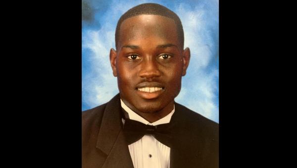 Ahmaud Arbery, who was shot and killed in Brunswick, Georgia, U.S. on February 23, 2020, is seen in an undated photo provided by Marcus Arbery - Sputnik International