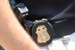 Badge on a FBI agent