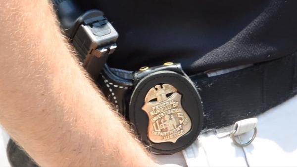 Badge on a FBI agent - Sputnik International