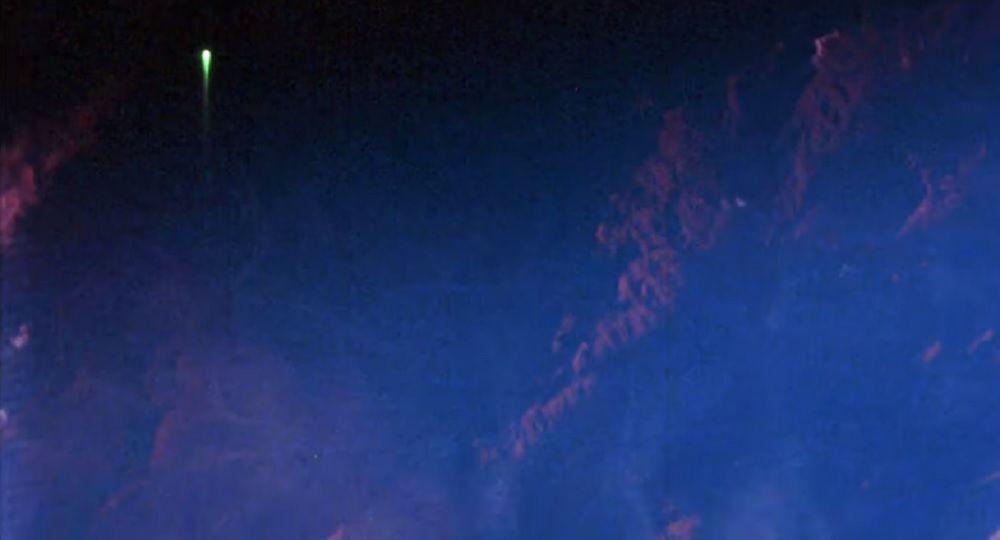 'UFO' Seen in NASA photo