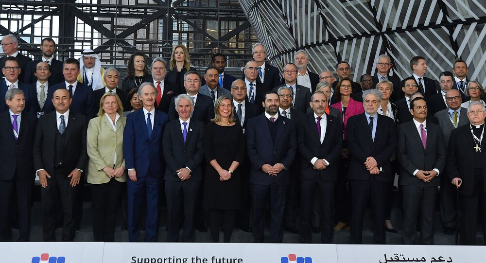 The third Brussels conference on supporting future of Syria and the region