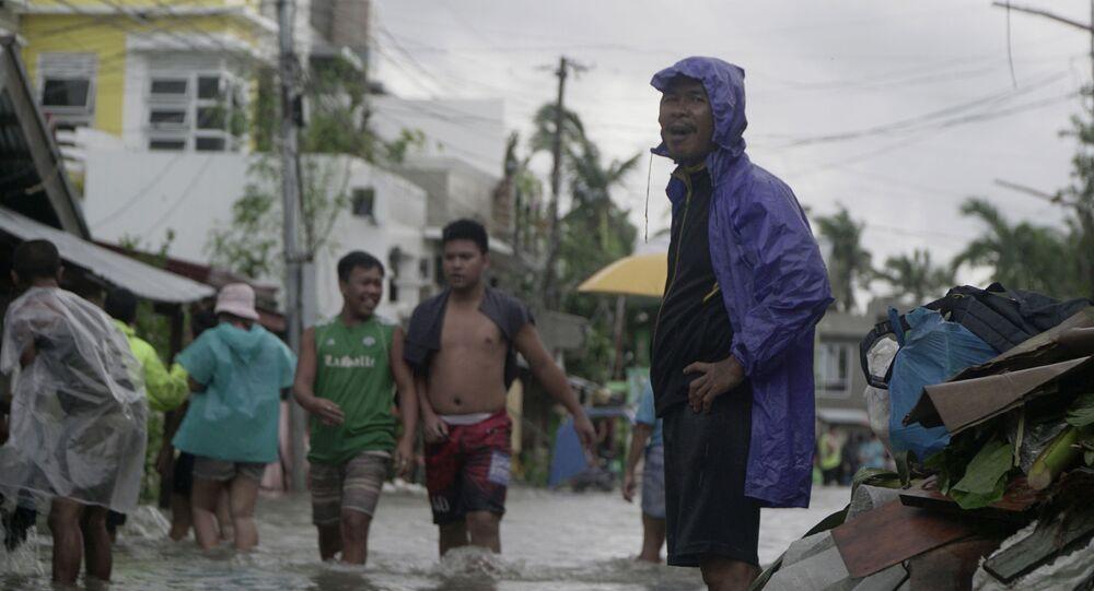 Typhoon Vongfong in Philippines