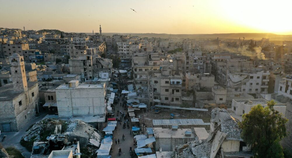 Ariha in the southern countryside of Syria's Idlib province