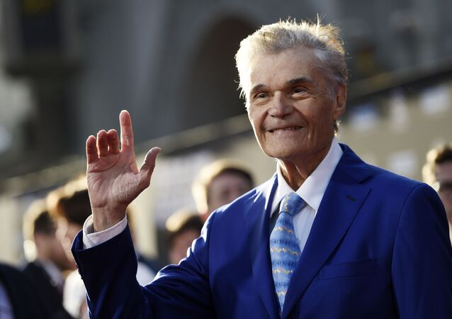 Actor Fred Willard poses before a 50th anniversary screening of the film In the Heat of the Night on the opening night of the 2017 TCM Classic Film Festival at the TCL Chinese Theatre on Thursday, April 6, 2017, in Los Angeles.