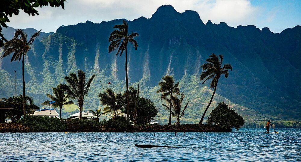 Kaneohe Bay Oahu Hawaii