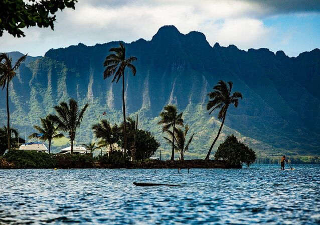 Kaneohe Bay Oahu Hawaii