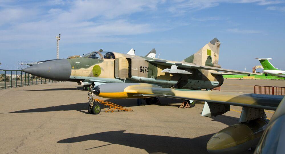 Libyan MiG-23MS