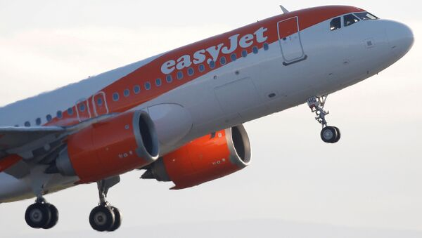 An Easyjet plane takes off from Manchester Airport in Manchester, Britain, 20 January 2020. - Sputnik International