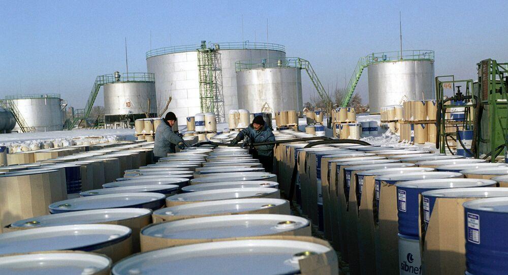 Russian Omsk Oil Refinery