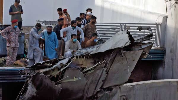 Karachi Plane Crash - Sputnik International