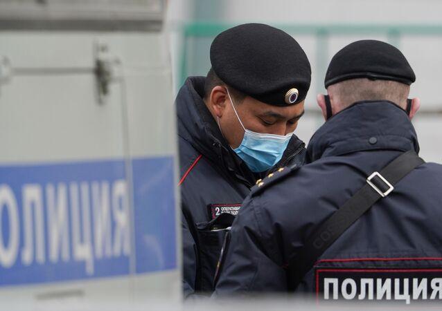 Moscow policemen