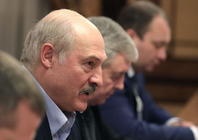 The meeting of Russian President Vladimir Putin with Belarussian President Alexander Lukashenko on 7 February 2020