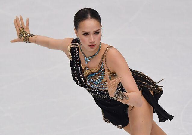 Alina Zagitova free skating at the 2019 Grand Prix final in Turin.
