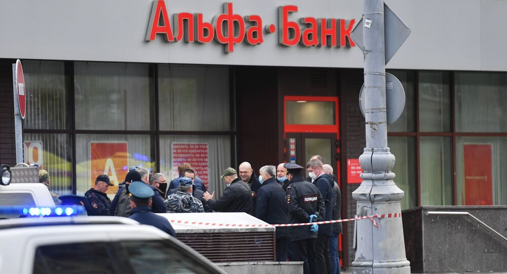 Hostage situation in central Moscow