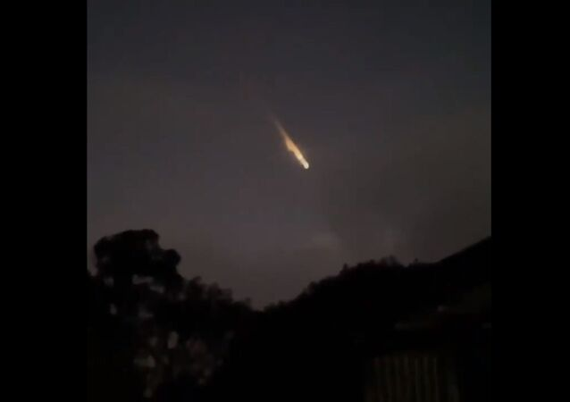 Fireball seen in the sky above the south-eastern part of Australia