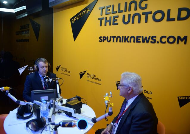 AmCham Russia President and CEO Alexis Rodzianko During Interview With Sputnik