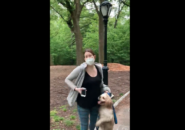 Amy Cooper, subject of viral dispute over leash law