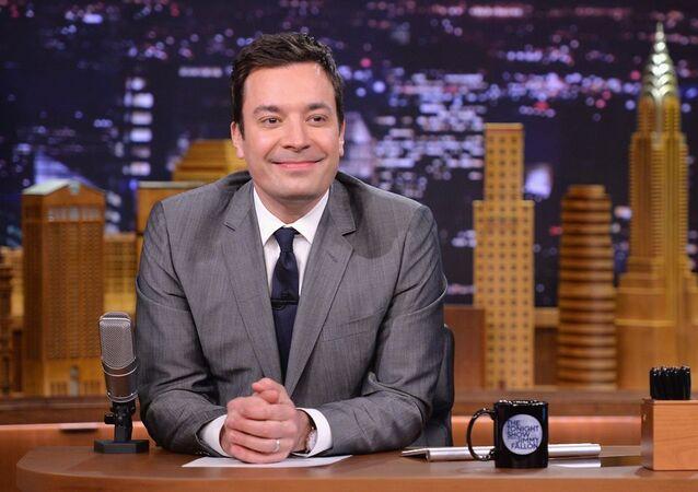Jimmy Fallon on Tonight Show in 2015