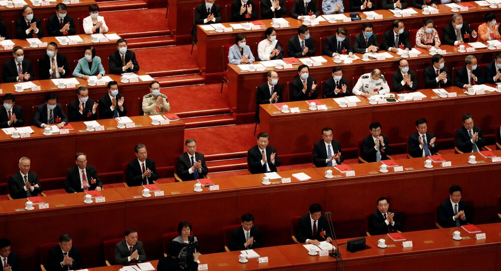 Chinese Parliament Passes Resolution on Hong Kong Security Bill