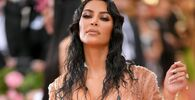 American media personality and model Kim Kardashian West attends the 2019 Met Gala Celebrating Camp: Notes on Fashion at Metropolitan Museum of Art on May 06, 2019 in New York City.