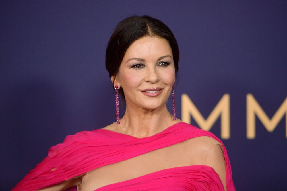 Catherine Zeta-Jones attends the 71st Emmy Awards at the Microsoft Theater on September 22, 2019 in Los Angeles, California.
