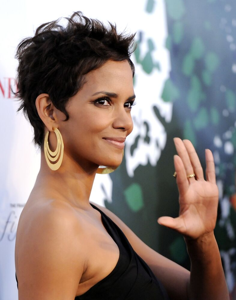 In this May 25, 2011 file photo, actress Halle Berry attends The Fragrance Foundation's 2011 FiFi Awards at The Tent at Lincoln Center in New York.