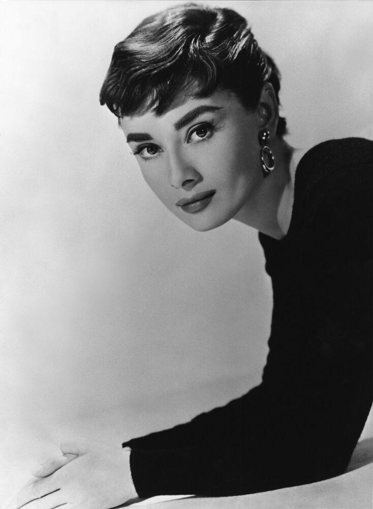 Actress Audrey Hepburn in London in 1948