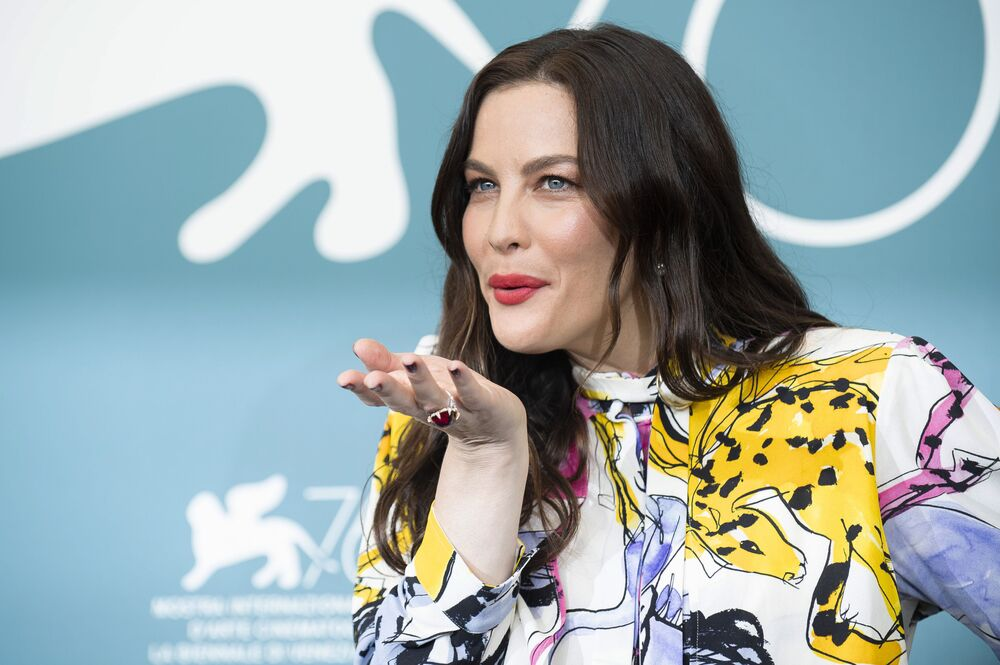 Actress Liv Tyler poses for photographers at the photo call for the film 'Ad Astra' at the 76th edition of the Venice Film Festival in Venice, Italy, Thursday, Aug. 29, 2019.