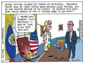 Undo Retweet: No Twitter Trump
