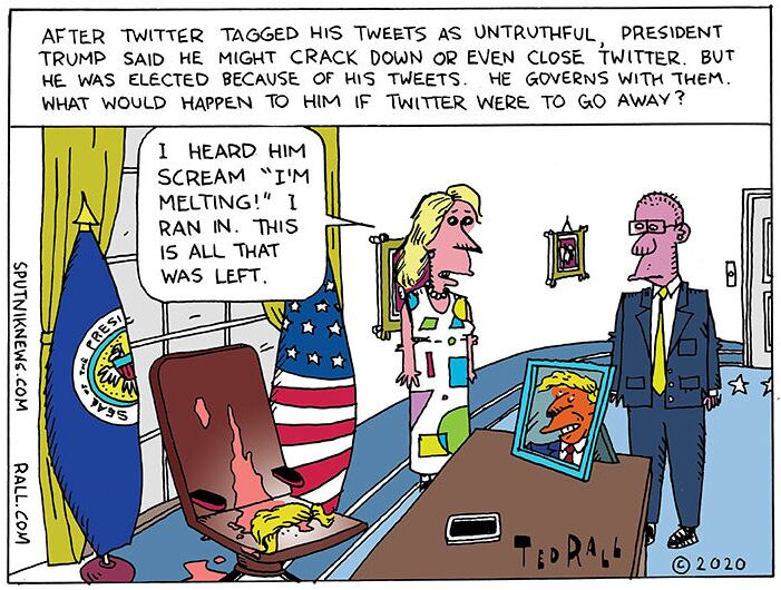 Undo Retweet: No Twitter Trump