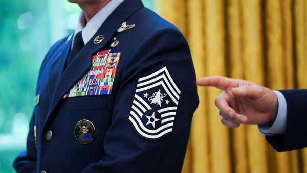 US Space Force emblem - Sputnik International