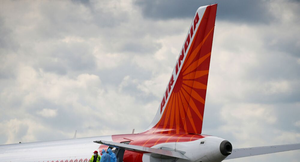 An Air India Airbus A320 plane is seen at the Boryspil International Airport upon arrival, amid the coronavirus disease (COVID-19) outbreak outside Kiev, Ukraine May 26, 2020.