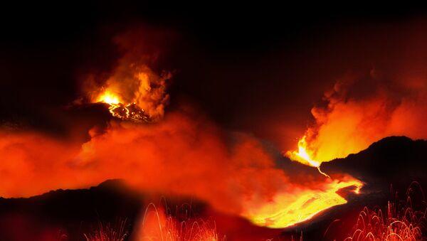 Volcanic eruption - Sputnik International