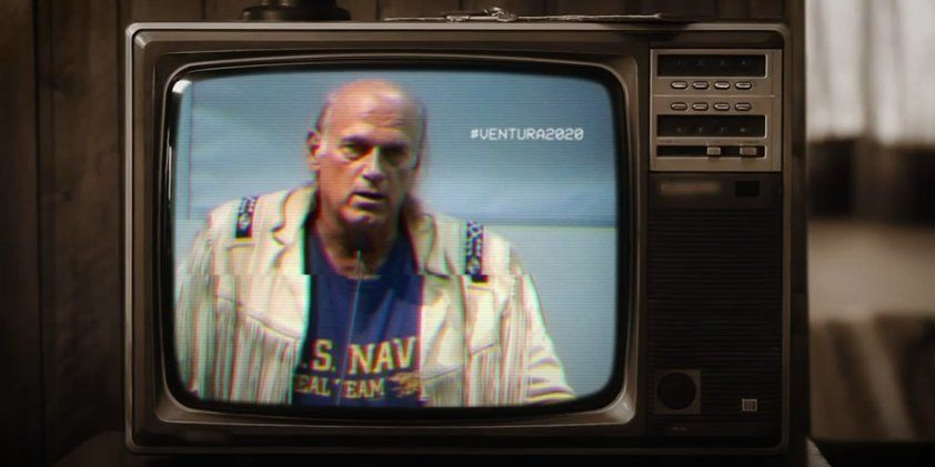 Screengrab of a viral video encouraging former Minnesota Governor Jesse Ventura to run for president.