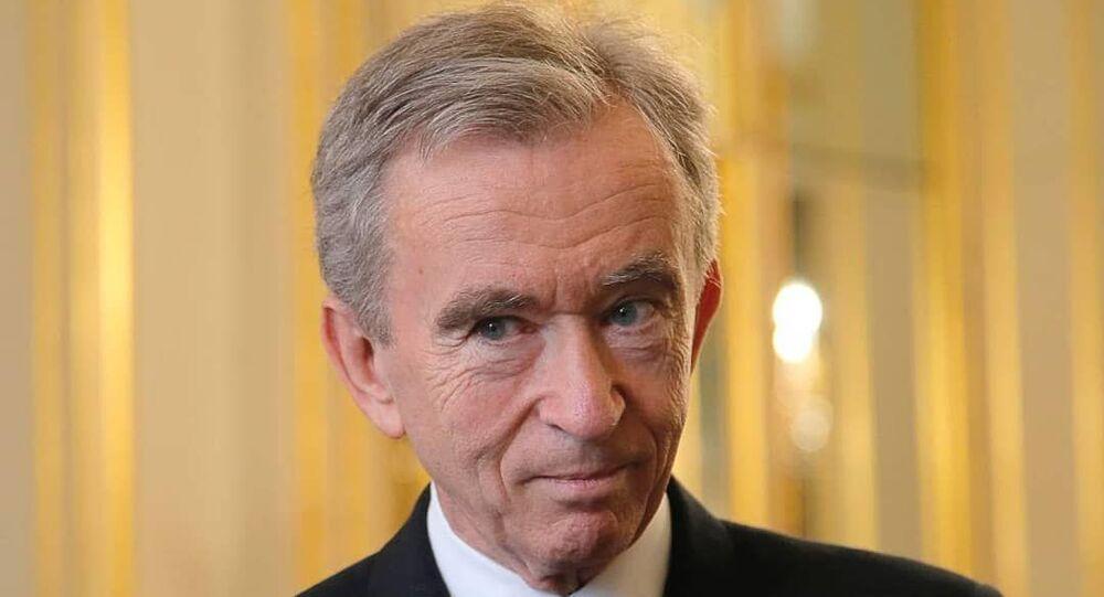 French billionaire Bernard Arnault