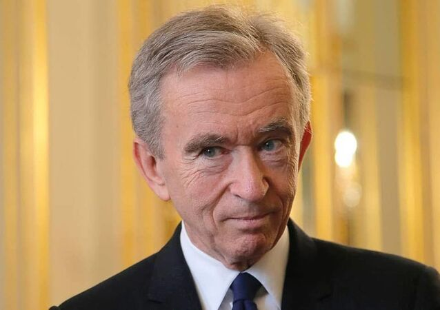 French billionaire Bernard Arnault