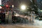 Protesters in Atlanta