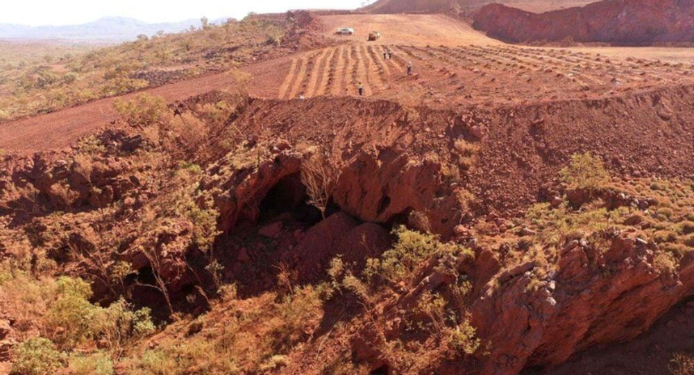 Rio Tinto apologises for blowing up 46,000-year-old Aboriginal site