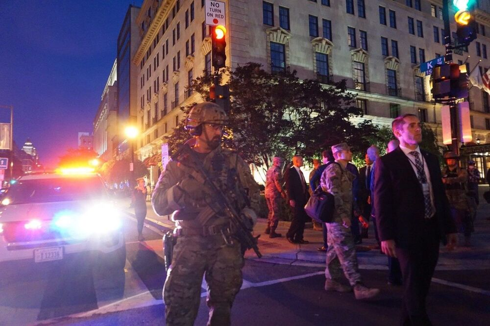 Boots on the Ground: DC Quells George Floyd Riots With Massive Security Deployment
