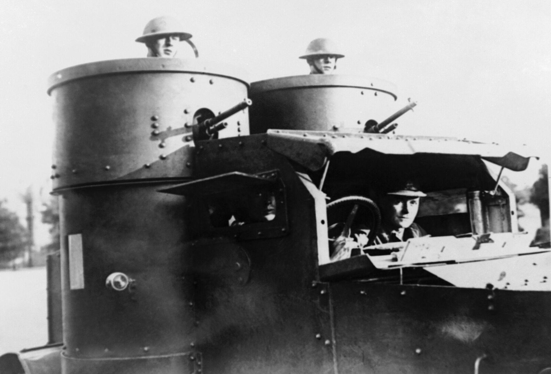 British troops in Ireland in 1920 - Sputnik International, 1920, 08.09.2021