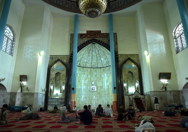 Wazir Akbar Khan Mosque in Kabul