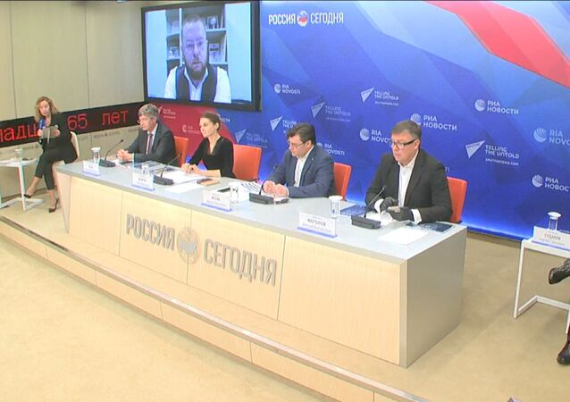 Conference on information campaign against Russia takes place at Rossiya Segodnya news agency