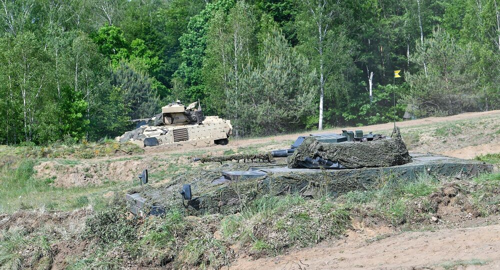 Combined US-Polish drills in northwest Poland, June 2020.